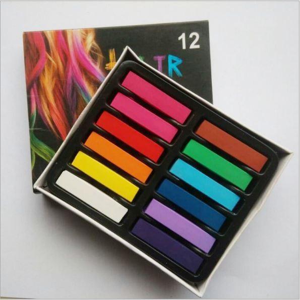 Set phấn nhuộm tóc 12 màu Joyous 6