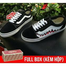 giày thời trang vaz shold vz best of răng cưa cá mập nam nữ tặng hộp