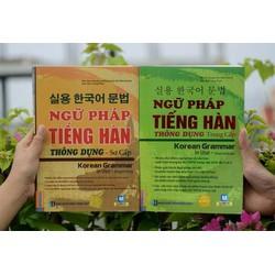 Combo 2 cuốn Ngữ pháp tiếng Hàn thông dụng