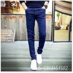 Quần Jean xanh Đơn giản