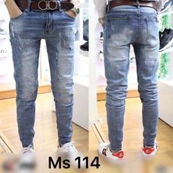 Quần Jeans wash Nam Thời Trang Cực Đẹp co giãn tốt