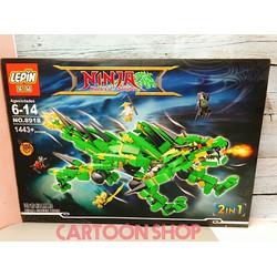 Lắp ráp lego Ninjago Masters of Spinjitzu LEPIN 8918