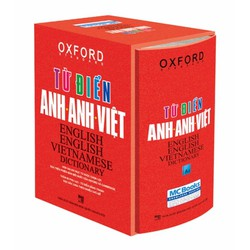Từ điển Oxford Anh Anh Việt :bìa cứng đỏ