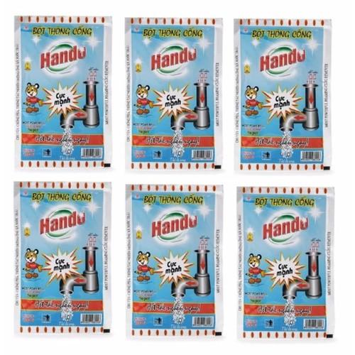 Bộ 6 gói bột thông cống Hando 100g - 5275208 , 8759278 , 15_8759278 , 119000 , Bo-6-goi-bot-thong-cong-Hando-100g-15_8759278 , sendo.vn , Bộ 6 gói bột thông cống Hando 100g