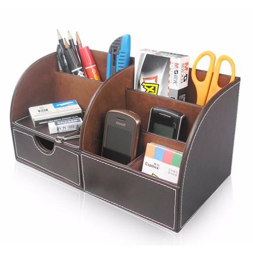 Hộp đựng bút - hộp đựng bút da - hộp bút để bàn
