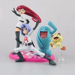 Mô Hình Đội Hỏa Tiễn | Team Rocket | Mô Hình Pokemon