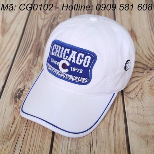 NÓN CHICAGOS 1972 TRẮNG