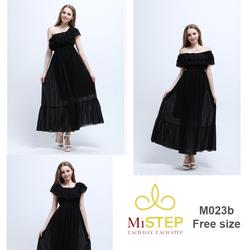 Váy Maxi Đẹp Cho Người Mập