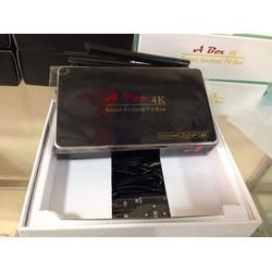 Android Tivi Box HTS V1 Tặng Kèm Chuột Không Dây Forter