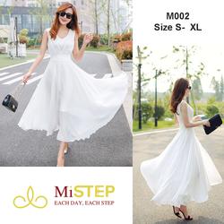 Váy Maxi Trắng Đẹp