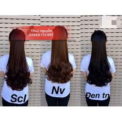 cột tóc giả