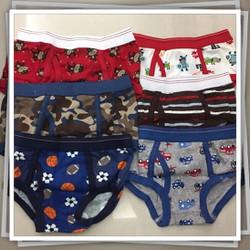 Set 3 quần lót bé trai hàng Thái Lan