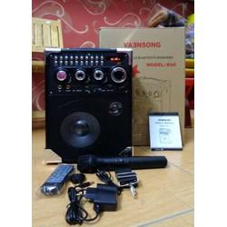 Loa kéo bluetooth karaoke K66 - TẶNG MIC - k66