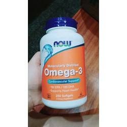 Dầu cá Omega 3 nhập khẩu trực tiếp từ Mỹ