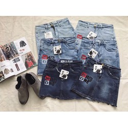 Quần jeans giả váy