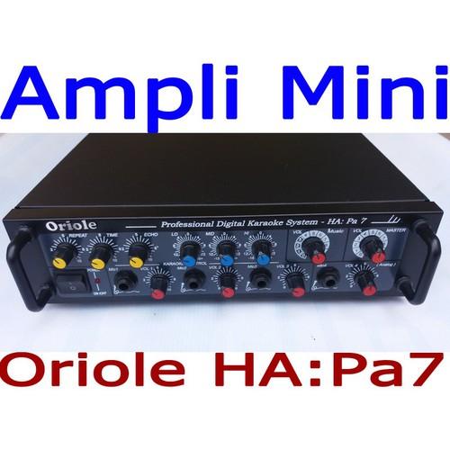 Ampli Mini Karaoke Oriole HA Pa7   Dòng Ampli mini hát karaoke