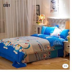 Bộ chăn ga gối giường 1m2x2m