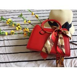 Túi xách nữ thời trang cao cấp - có quai đeo - Trang trí nơ sành điệu