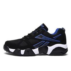 giày sport nam màu đen xanh đẹp - ngầu - chất