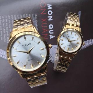 Đồng hồ đôi chính hãng Halei 2v chống xước, chịu nước tốt - Đồng hồ đôi chính hãng Halei thumbnail