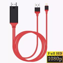 Cáp chuyển tín hiệu từ điện thoại cổng lightning lên tivi cổng HDMI
