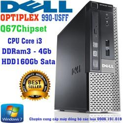 Máy tính đồng bộ DELL Optiplex 990-USFF core i3 ram 4GB ổ cứng 160GB