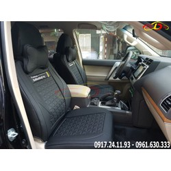 Bao ghế ô tô |Áo ghế ô tô Ai Cập Cao cấp - Đen