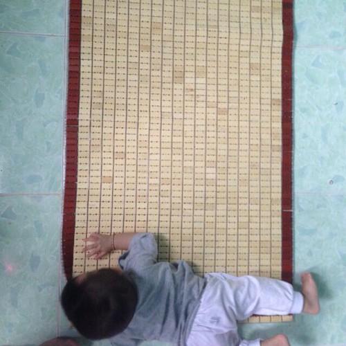 chiếu trúc đặt nôi cho trẻ em