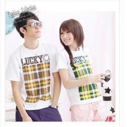 áo thun couple tình nhân Mã: AP128