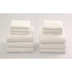 10 cái Khăn mặt khăn tắm 34x82 90g giá rẻ!