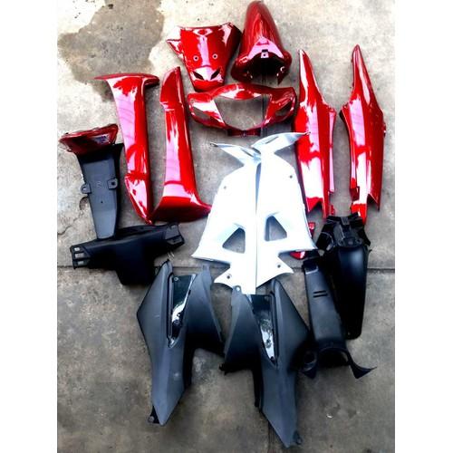 dàn áo xe wave rs Nhựa ABS ghi màu ĐỎ ĐÔ Áo nhựa xe Wave RS - 5288332 , 8783601 , 15_8783601 , 840000 , dan-ao-xe-wave-rs-Nhua-ABS-ghi-mau-DO-DO-Ao-nhua-xe-Wave-RS-15_8783601 , sendo.vn , dàn áo xe wave rs Nhựa ABS ghi màu ĐỎ ĐÔ Áo nhựa xe Wave RS