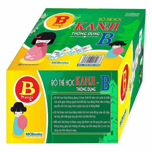 Bộ Thẻ Học Kanji Thông Dụng B - 4423953 , 8787415 , 15_8787415 , 200000 , Bo-The-Hoc-Kanji-Thong-Dung-B-15_8787415 , sendo.vn , Bộ Thẻ Học Kanji Thông Dụng B