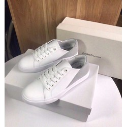 Giày Sneaker | Giày Sneaker nữ đầu trắng đuôi xám Quảng Châu