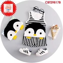 Bộ chim cánh cụt ngộ nghĩnh dành cho bé trai va bé gái từ 2-10 tuổi
