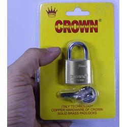 Ổ Khóa mini an toàn CROWN 25mm khóa vali cửa tủ