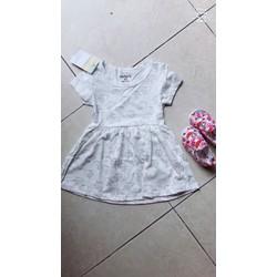 Váy carter cộc tay cho bé gái