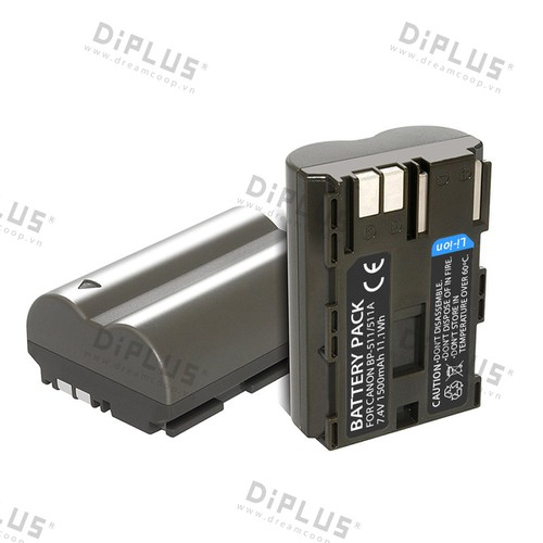 Pin máy ảnh Canon BP-511A Canon 50D 40D 30D 20D 5D BP511