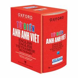 Từ Điển Anh Anh Việt Bìa Cứng màu Cam