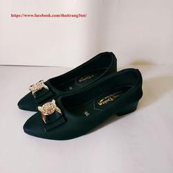 Giày búp bê nữ - Giày búp bê nơ - Giày búp bê cao gót công sở