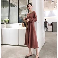 Đầm retro phong cách Hàn Quốc
