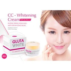 Kem dưỡng trắng hoàn hảo Gluta White CC-Whitening Cream- Ban Ngày
