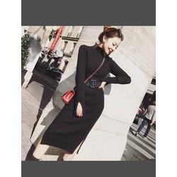 Đầm len body Quảng Châu cao cấp