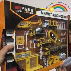 Bộ xe Công trình thi công KTD1596