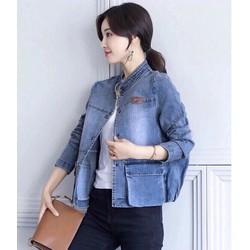 S M L XL - Áo Khoác Jean Fashion