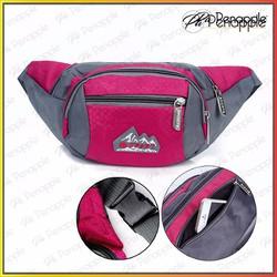 Túi đeo bụng Túi đeo ngang hông dành cho nam nữ đi du lịch Màu Hồng