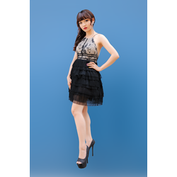 💥 Đầm Hotgirl Xòe Tầng 💥 Đầm Ren Xòe Sang Trọng, Quyến Rũ 💥