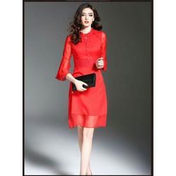 Đầm Voan Tay Loa