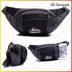 Túi đeo bụng Túi đeo ngang hông dành cho nam nữ đi du lịch  Màu đen