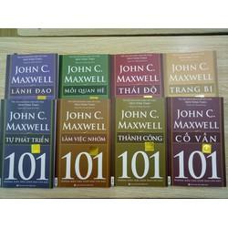 COMBO 8 cuốn John C.Maxwell cho những nhà lãnh đạo việt nam