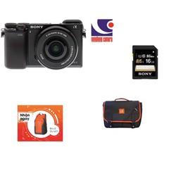 Máy ảnh Sony ILCE A6000L kit lens 16-50mm hàng chính hãng